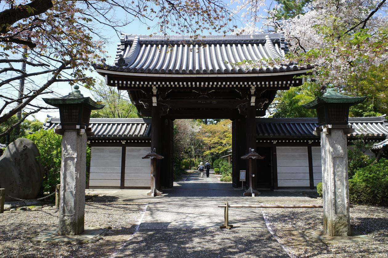 真盛寺 入口の門