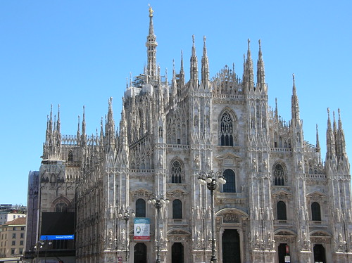 The Milan Cathedral (The Nativity of Mary)