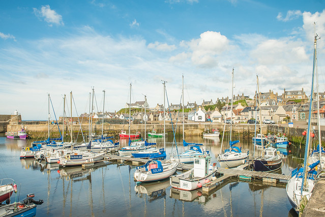 Beautiful Findochty Harbour
