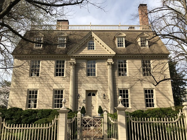 The Lindens, 1754 house at Kalorama Circle NW, Washington, D.C.