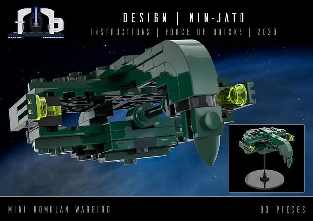 Nin-Jato's Mini Romulan Warbird