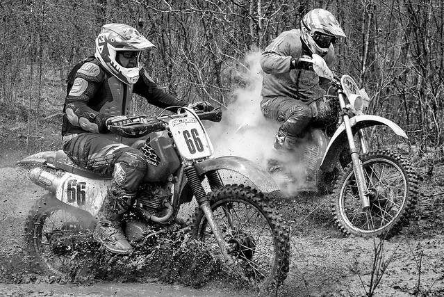 White Lightening Classic Vintage Motorcycle Race Buffalo SC USA