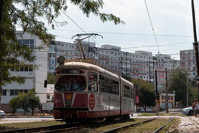 SGP E1 tram 4672 Braila