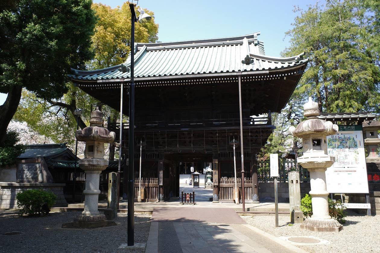 妙法寺・仁王門