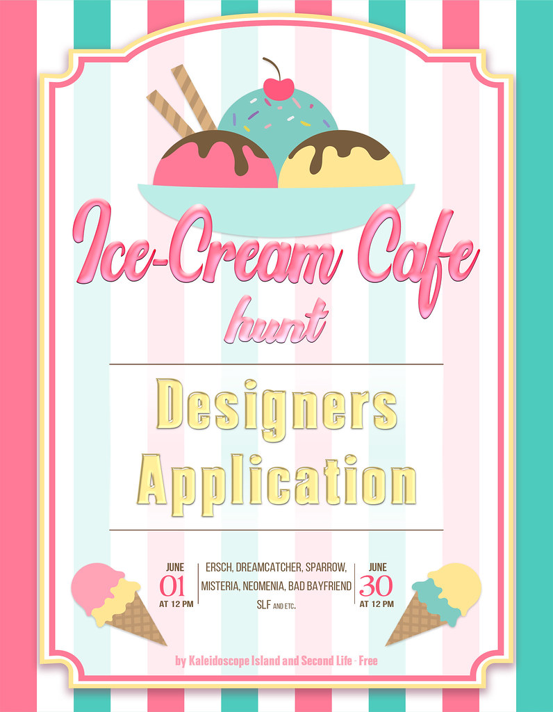Ice-Cream Cafe Hunt {Designers Application}