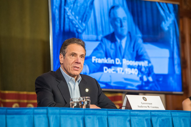 Amid Ongoing COVID-19 Pandemic, Governor Cuomo Announces 1,000 Ventilators Donated to New York State