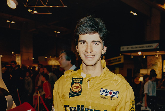 Damon Hill - Motorfair 1987