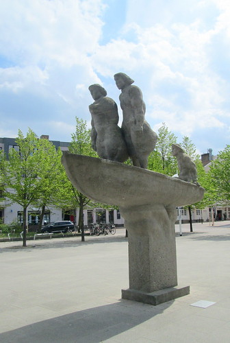 Sculpture, Warnemünde Town Centre