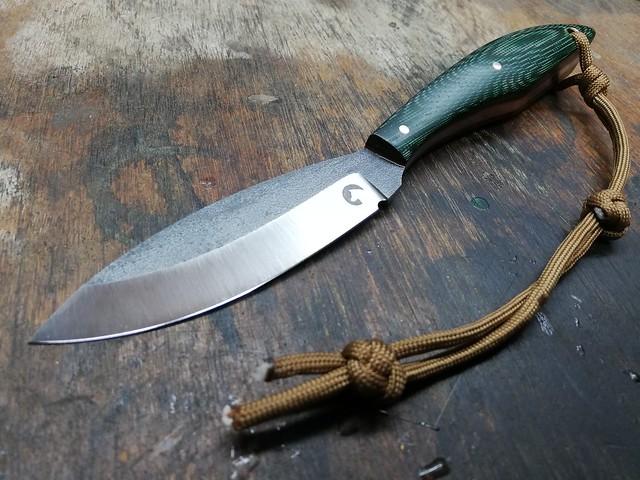 163. Canadian belt knife #26