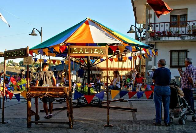 Carrossel em Puebla de Sanabria
