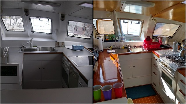 Galley then and now