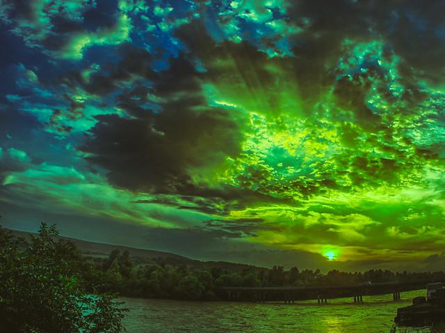 Fiddown Sunset