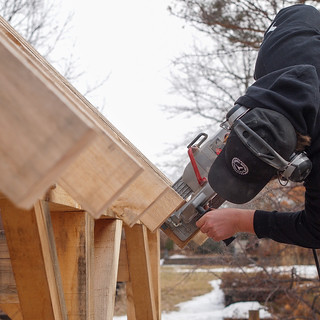 Build Your Own Timber Frame - Workshop at The Gardens | by Workshop at The Gardens
