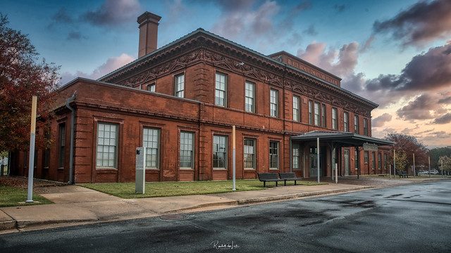 An Old Railroad Station With A New Purpose In Little Rock, Arkansas