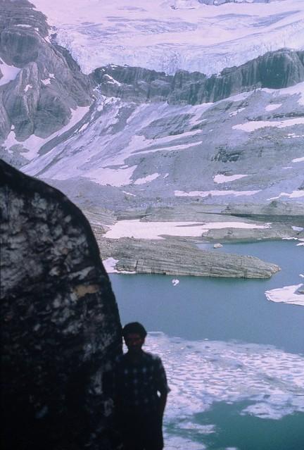 Lago de Pineta desde la brecha Tucarroya