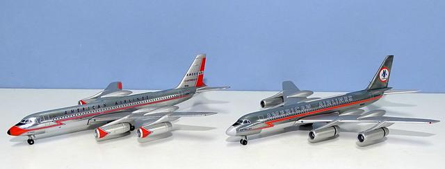 American Airlines Convair CV-990As N5618 & N5620