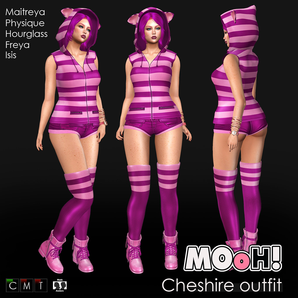 Cheshire outfit