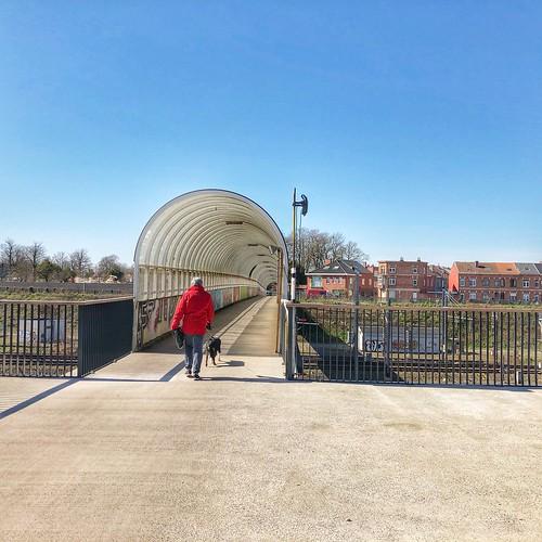 Leuven fietsstad - Tivolibrug