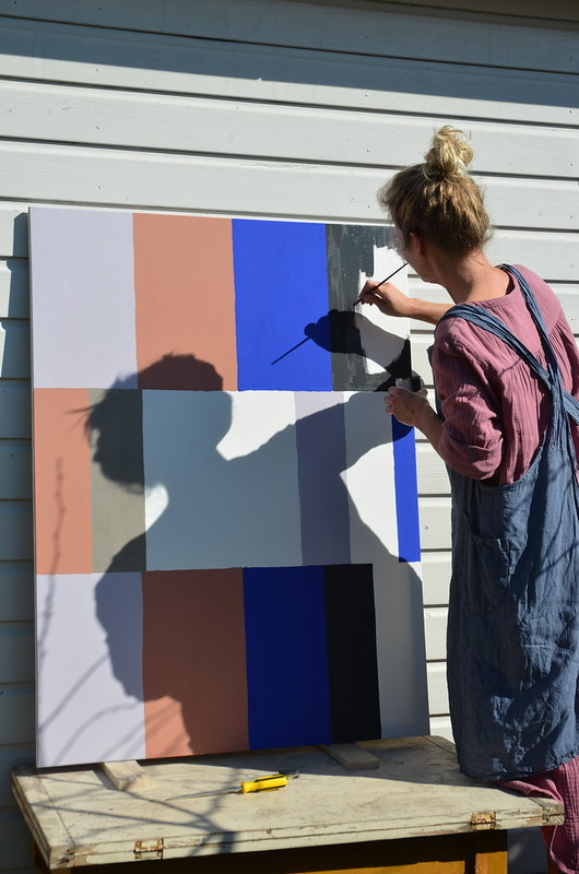 painting a palette