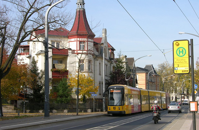 2010-10-29 Dresden Tramway Nr.2826