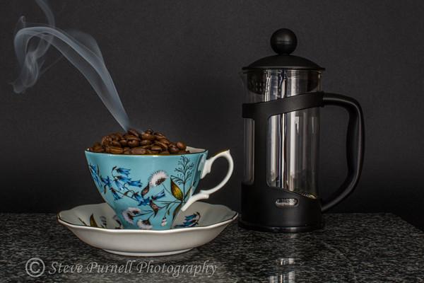Hot Roasted Coffee