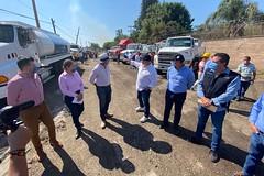 04 Abr 2020 . El Gobernador del Estado, Enrique Alfaro anuncia la puesta en marcha del servicio gratuito de pipas para abasto de agua en los municipios de Tlajomulco, El Salto y Juanacatlán