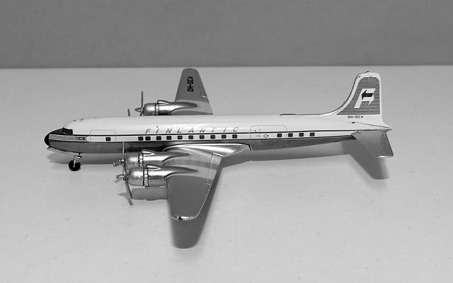 Finlantic Douglas DC-6A OH-DCA