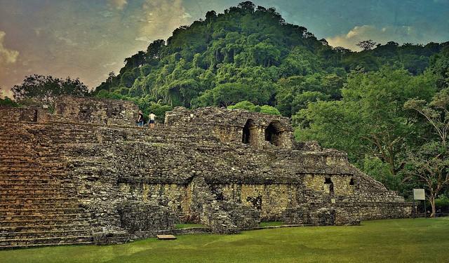 MEXICO, Historisches Highlight - die Mayastätte Palenque , 19640/12544