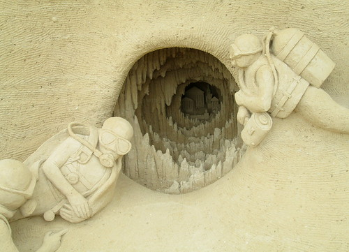 Detail, Sand Sculpture, Warnemünde