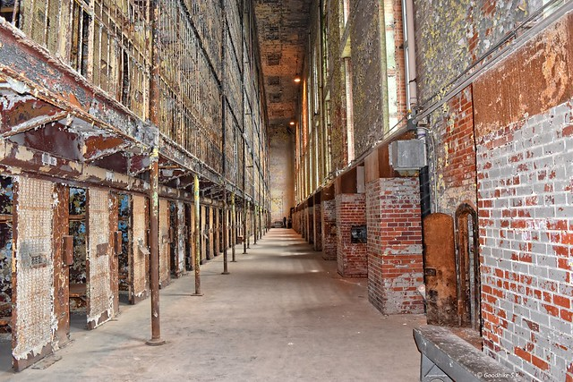 Interior Cell Block of Ohio State Reformatory