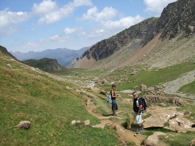 Valle de los Sarrios yo y Axelle