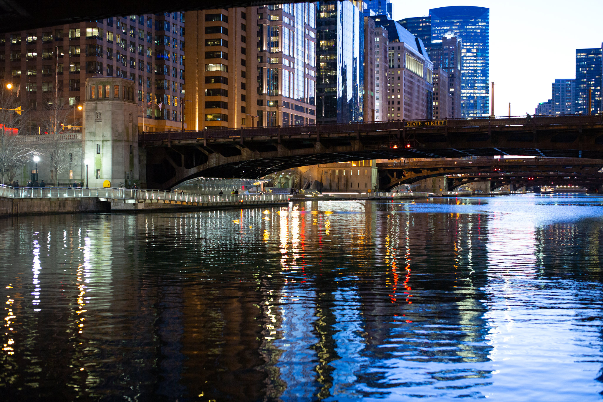 Chicago River bridges