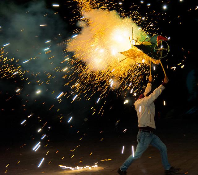 Fireworks, Teotitlan del Valle