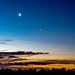 Luna, Venus and Pleiades