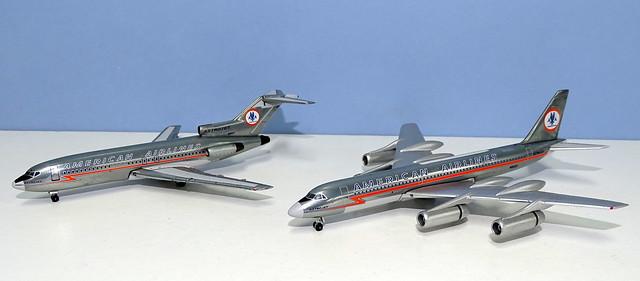 American Airlines Boeing 727-23 vs Convair CV-990A