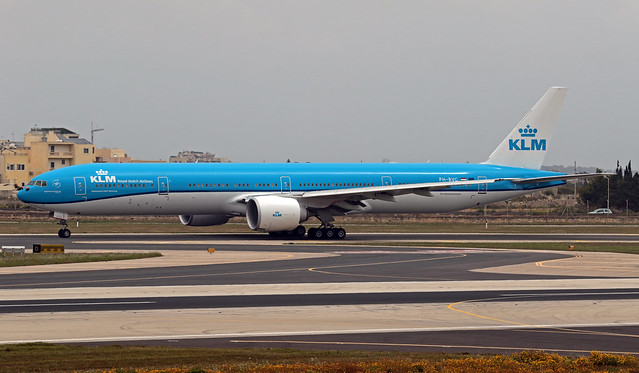 PH-BVG LMML 22-03-2020 KLM Royal Dutch Airlines Boeing 777-306ER CN 38867