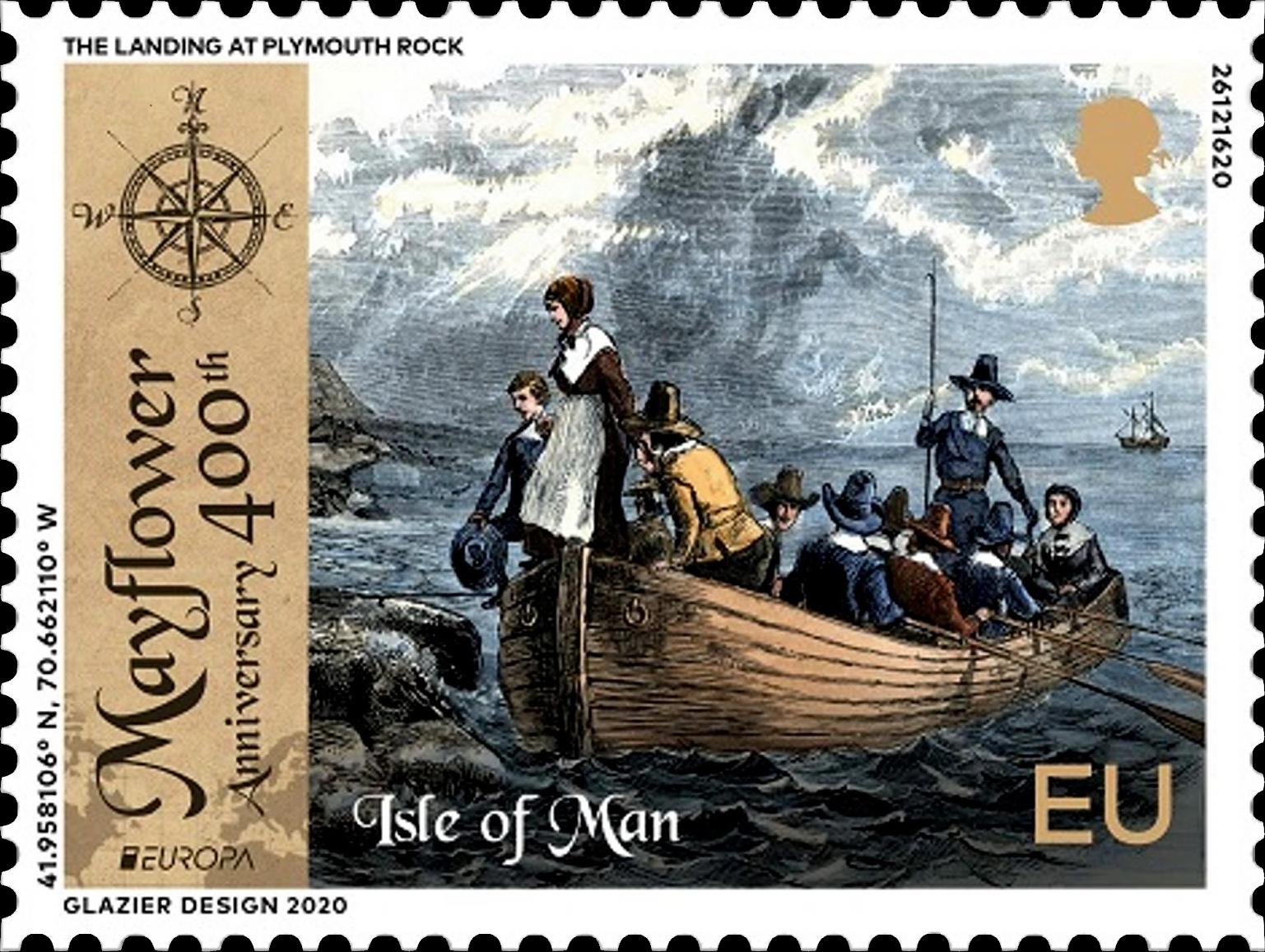 New Issues 2020: Isle Of Man (EUROPA / Mayflower) – Philatelic Pursuits