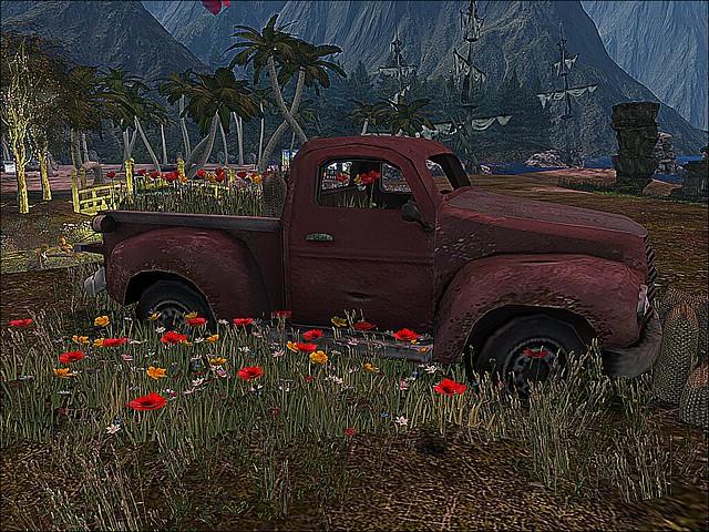 Love Home & Gardens -A Wild Truck