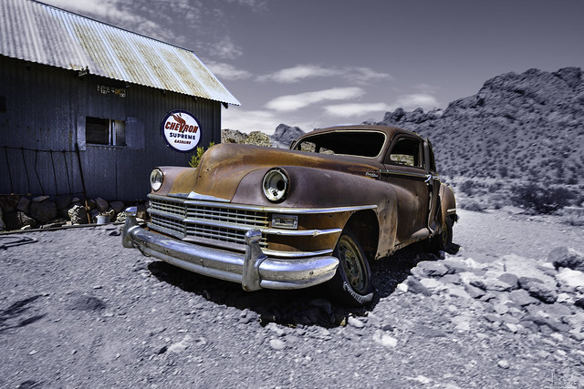 Scap in Nelson Ghost Town - Nevada - USA