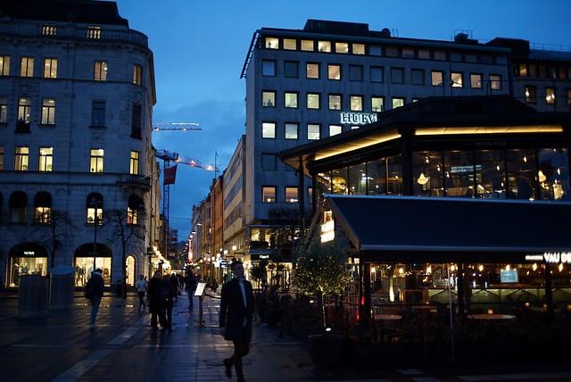 斯德哥爾摩 雨後黃昏 twilight after rain at Stockholm