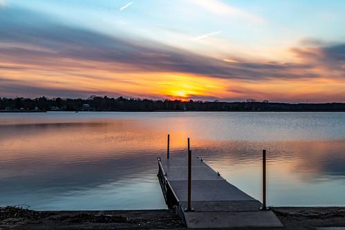 phantomglenpark mukwonago landscape sunset wisconsin unitedstates usa park 2020 phantomlake lake april unitedstatesofamerica
