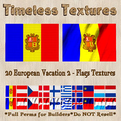TT 20 European Vacation 2 - Flags Timeless Textures