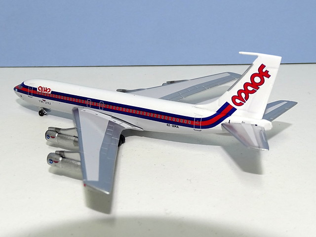 MAOF Airlines Boeing 720 4X-BMA-