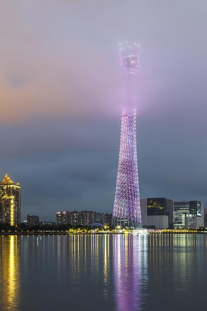 Tower in cloud