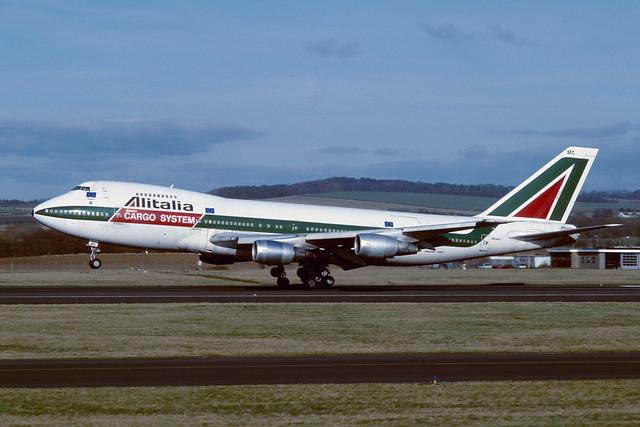 I-DEMC Boeing B747-243BF EGPK 1997