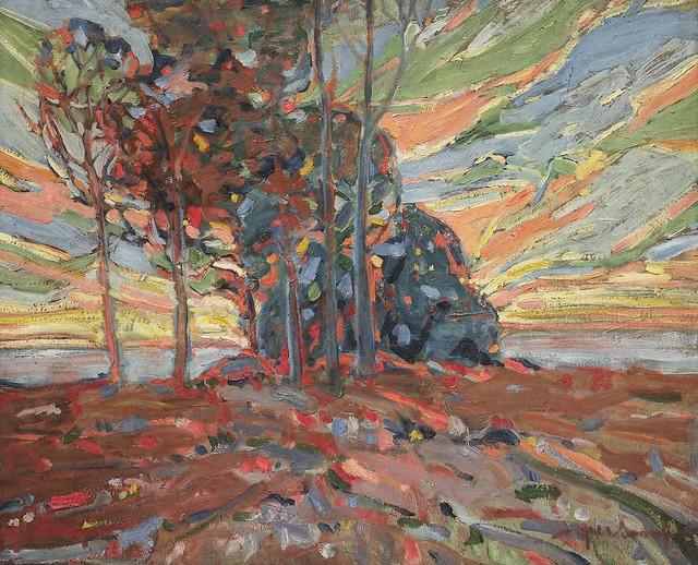 Hale Woodruff - Twilight [c.1926]