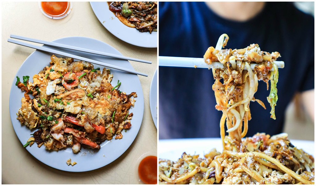 hougang-orh-lua ckt and prawn omelette