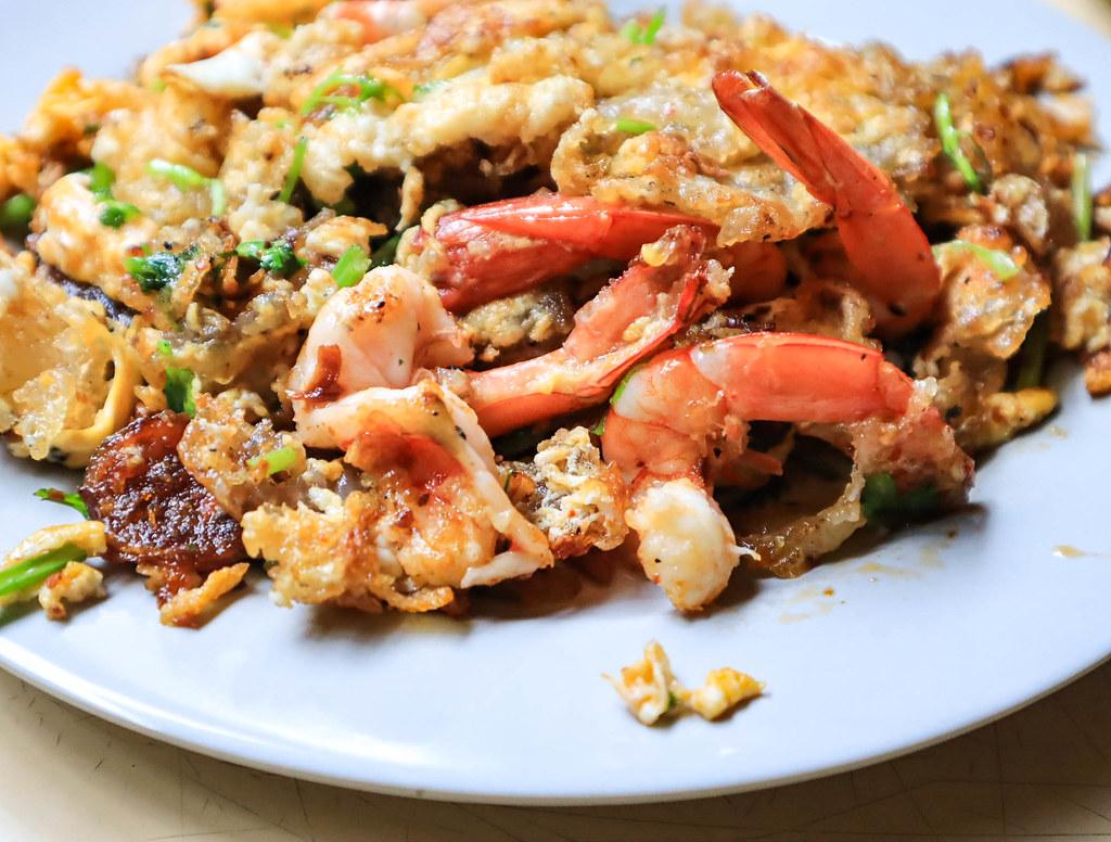 hougang-orh-lua prawns close up