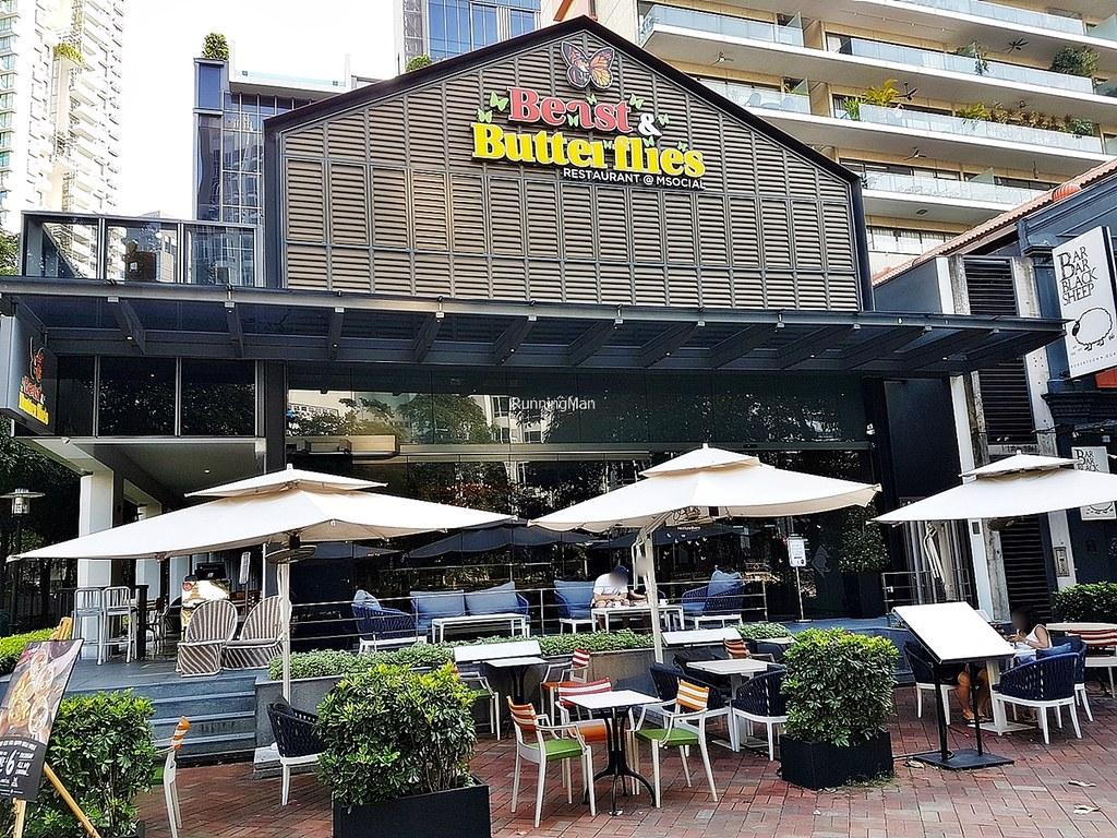 M Social Singapore 15 - Beast & Butterflies Exterior
