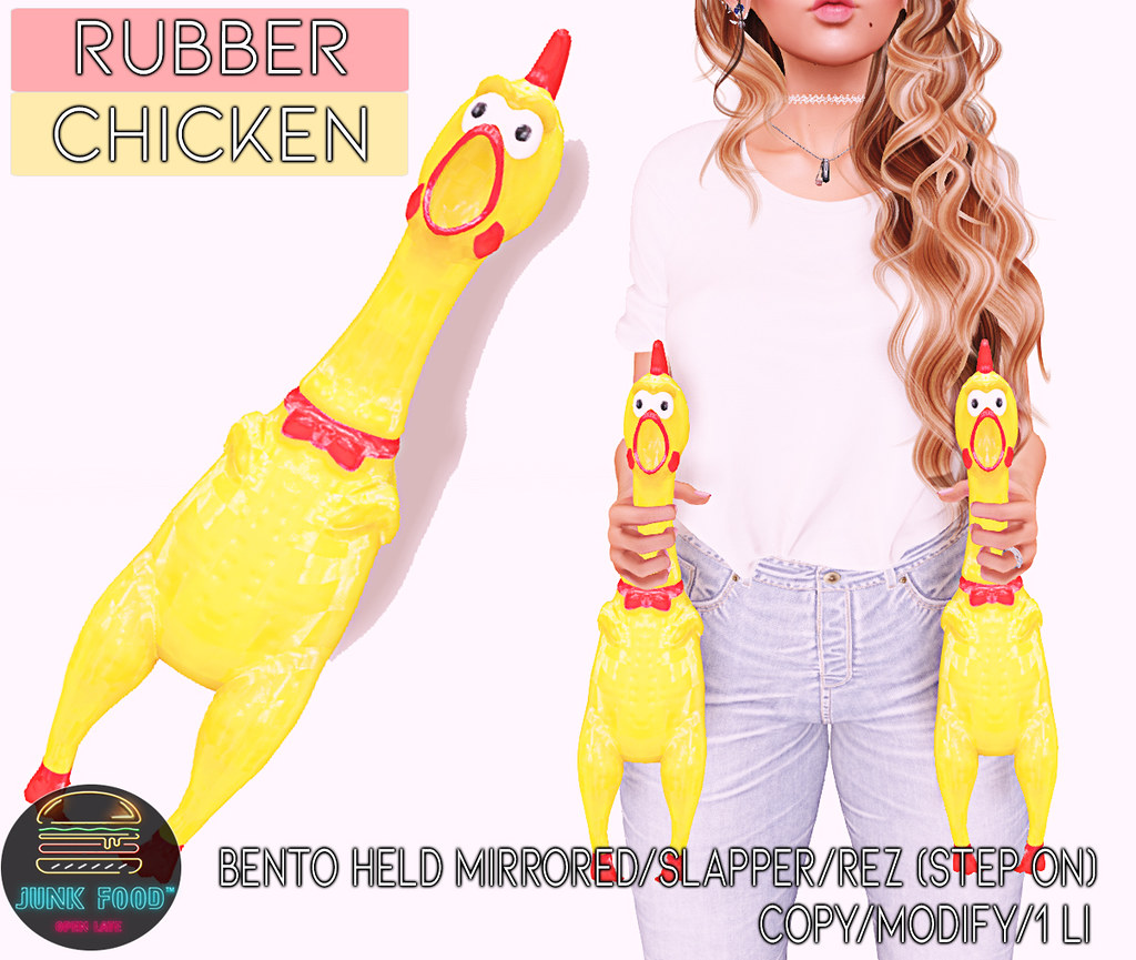 Junk Food – Rubber Chicken Ad